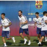 MUNDIAL 2018: Argentina trabajó la defensa en otra práctica en Barcelona