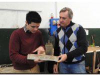 El municipio visitó una joven fábrica local que da nuevos aires al rubro de la construcción
