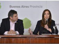 María Eugenia Vidal anunció un paquete de medidas sociales