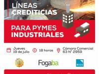 Financiamiento para ayudar a las Pymes a radicarse en el Sector Industrial