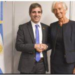 La directora del FMI se reunió con Caputo y hablaron sobre la inflación y las reservas