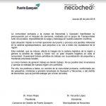 Municipio y Puerto rechazan bloqueo realizado por Transportistas Auto convocados