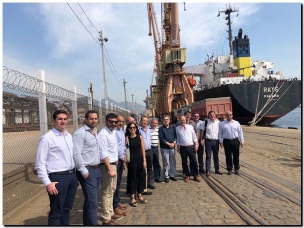 Misión comercial de Puerto Quequén a Brasil