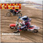 Se va preparando todo para el Enduropale en Necochea