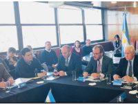 Rojas en la décima sesión del Consejo Federal Portuario