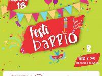 Hoy comienza FestiBarrio, con variadas actividades en el 9 de Julio