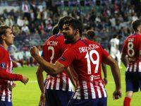 """El Atlético del """"Cholo"""" Simeone goleó al Real Madrid y ganó la Supercopa europea"""