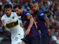 Barcelona le ganó 3 a 0 a Boca y Messi marcó un golazo
