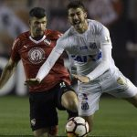 Independiente empató con Santos en el partido de ida