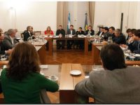 Diputados recibieron informe sobre el estado de las escuelas