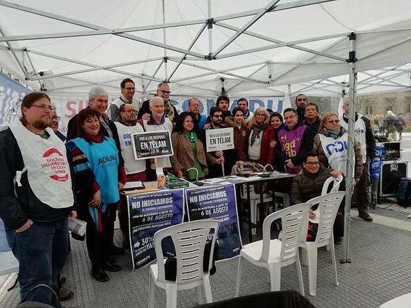 UNIVERSIDADES: Paro de 48 horas y reunión paritaria