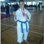 Rosa Parson Campeona Provincial de karate