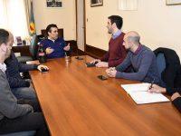 López avanza en un convenio con IOMA para mejorarle el servicio a los afiliados