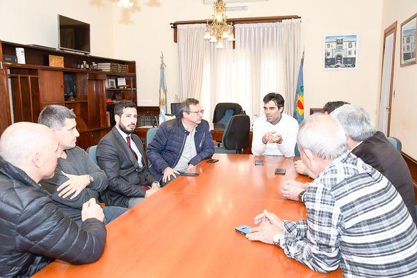 Necochea sustentable: López recibió a la Cámara de Energías Renovables