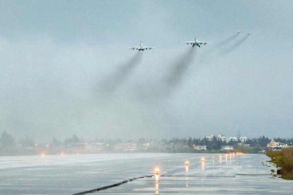 El avión ruso desaparecido con 15 soldados fue derribado por la defensa antiaérea siria