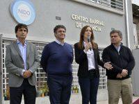 Vidal anunció más dinero para los más necesitados