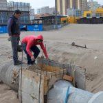 NECOCHEA: Está por finalizar la obra del nuevo pluvial sobre la Avenida 2