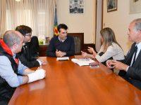 NECOCHEA: López, junto a la nueva gestión de la Delegación Necochea del Colegio de Escribanos de la Provincia
