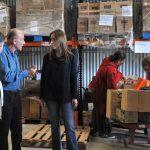 PROVINCIA: María Eugenia Vidal visitó la sede del banco alimentario de La Plata