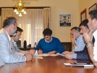 NECOCHEA: Convenio entre Municipio y Puerto Quequén