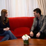 NECOCHEA: Visita de Vidal y larga reunión con López