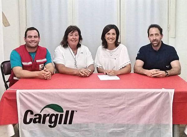NECOCHEA: Importante donación de la Fundación Cargill