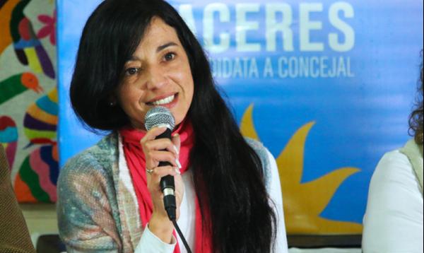 POLÍTICA: Críticas de la concejal Cáceres