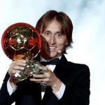 FÚTBOL: Modric ganó el Balon de Oro