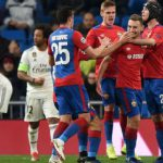 FÚTBOL: CSKA goleó a Real Madrid, que igual ganó su grupo