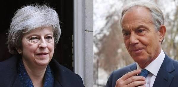 EL MUNDO: May dura contra Tony Blair