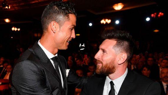 FÚTBOL: Messi y Ronaldo se enfrentan en la Champion