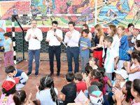 NECOCHEA: Se inauguró el programa provincial Escuelas Abiertas en Verano