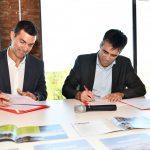 NECOCHEA: López y Urtubey firmaron un convenio de colaboración turística