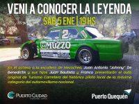 VERANO 2019: El auto original de Johnny De Benedictis en la Escollera Sur