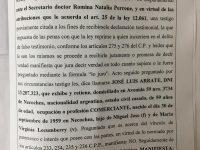 NECOCHEA: Declaración del empresario Arrate sobre el faltante de cheques en la Usina