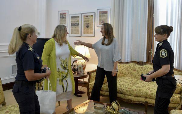 PROVINCIA: Reunión del gabinete presidido por Vidal