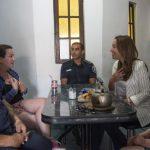 PROVINCIA: La gobernadora con policías bonaerenses