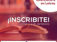NECOCHEA: Está abierta la inscripción para la Licenciatura en Letras