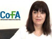 FARMACÉUTICOS: Encuentro en el Colegio de Necochea con María Isabel Reinoso