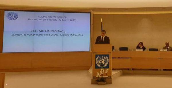 DERECHOS HUMANOS: Argentina en la ONU