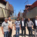 PUERTO QUEQUÉN: Visita del subsecretario de Pesca, Juan Bosch
