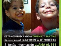PEDIDO: Se busca intensamente a dos niños necochenses