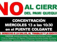 MOVILIZADOS: Sigue la lucha por el PAMI Quequén