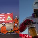 ¡URGENTE! Encadenados contra la contaminación de Shell en la Patagonia