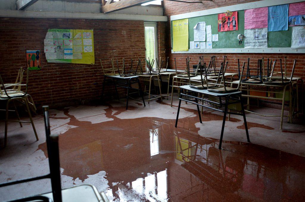 Plan de infraestructura en escuelas bonaerenses