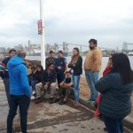 PUERTO QUEQUÉN: Visita de alumnos de la Universidad de Luján