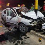 ACCIDENTE: Un muerto y varios heridos tras brutal choque en ruta 11