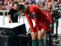 FÙTBOL: Cristiano Ronaldo descarta preocupación por su lesión