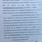 JUSTICIA: Siguen presentaciones por el robo de cheques