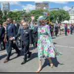 TANDIL: Visita de la Reina Margarita